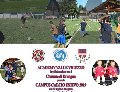 Campus Calcio Academy 2019