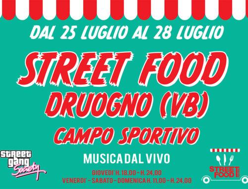 Street Food a druogno